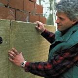 laine de roche mur creux