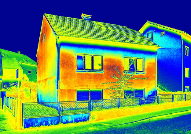 analyse thermique mur non isolé