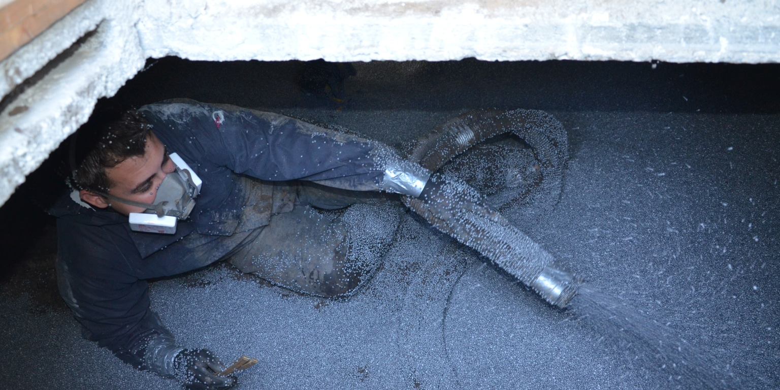 Isolation du vide sanitaire conseils prix isolation - Isolation plafond cave polystyrene ...