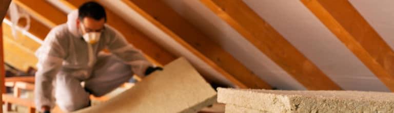laine de roche toiture