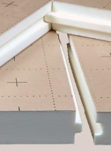 panneaux isolants et leurs applications prix le m. Black Bedroom Furniture Sets. Home Design Ideas